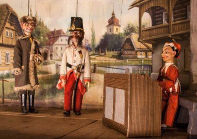 Loutková scéna - Divadelní spolek Krakonoš